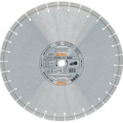 Disco de diamante-Tronzadoras. Ø 400 mm SB 80